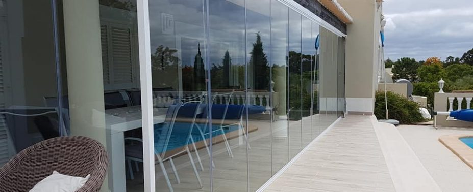 Our  glass curtains allow you to enjoy your terrace all year round, shutting out any inclement weather,while simultaneously enhancing the overall appearance of your property. Our system is bottom weighted,[...]