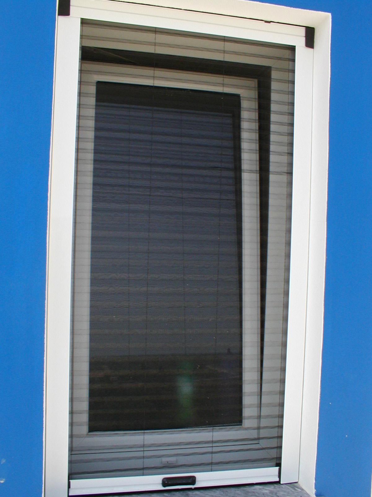 Concertina Fly Screen Doors Security Screens For Doors