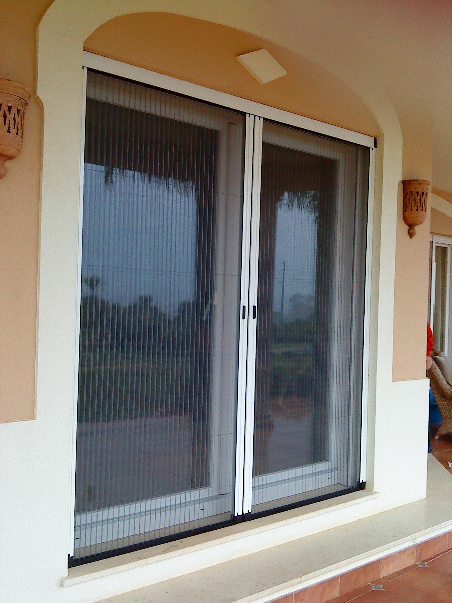 Sliding glass door screen protector for Sliding glass door screen